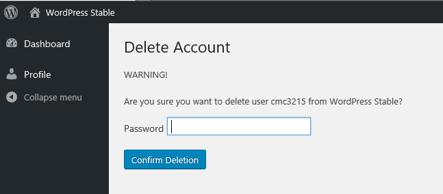Delete Me – WordPress plugin | WordPress org