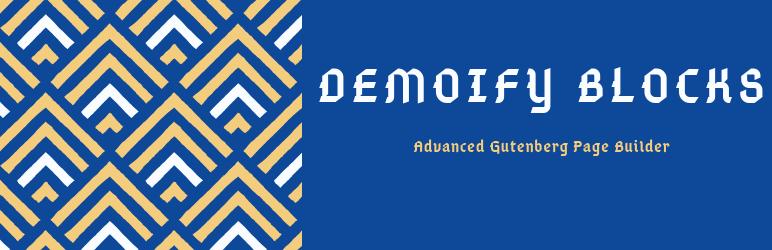 Demoify Blocks – Gutenberg Page Builder