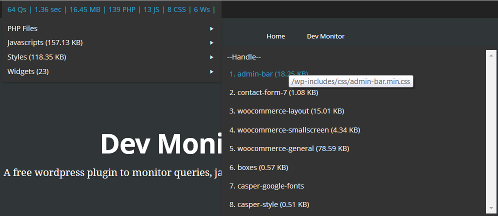 dev-monitor screenshot 5