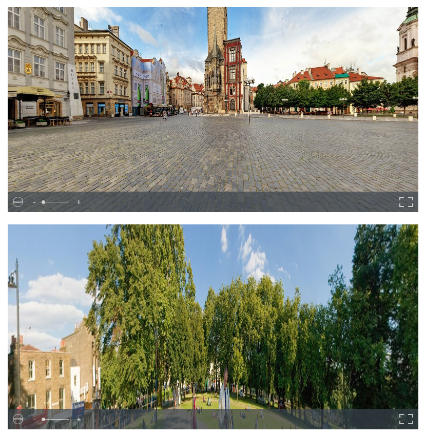 Front-end View - Multiple 360 Image on Single page.