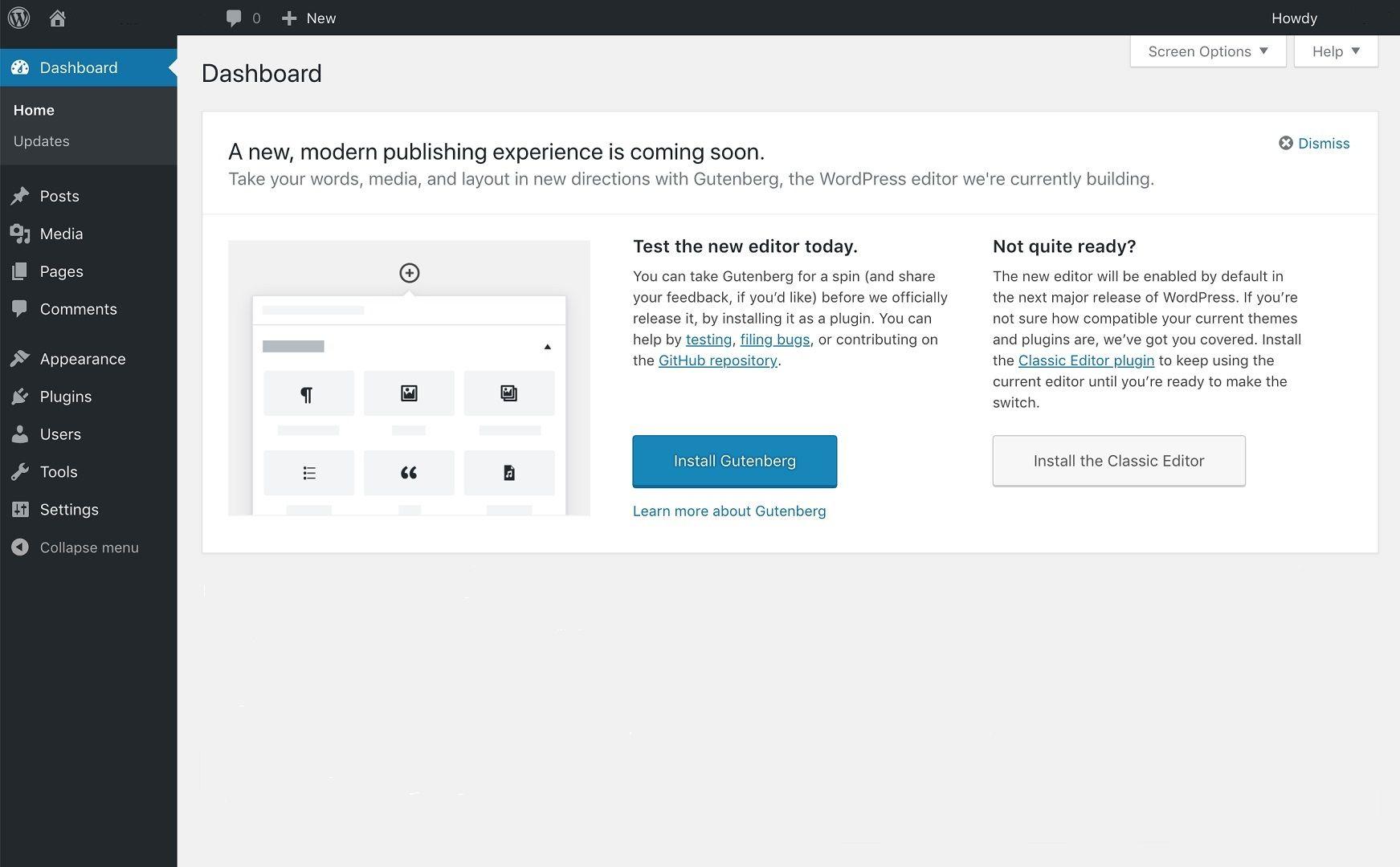 Dashboard Widget Enabled - Screenshot 1 of 4
