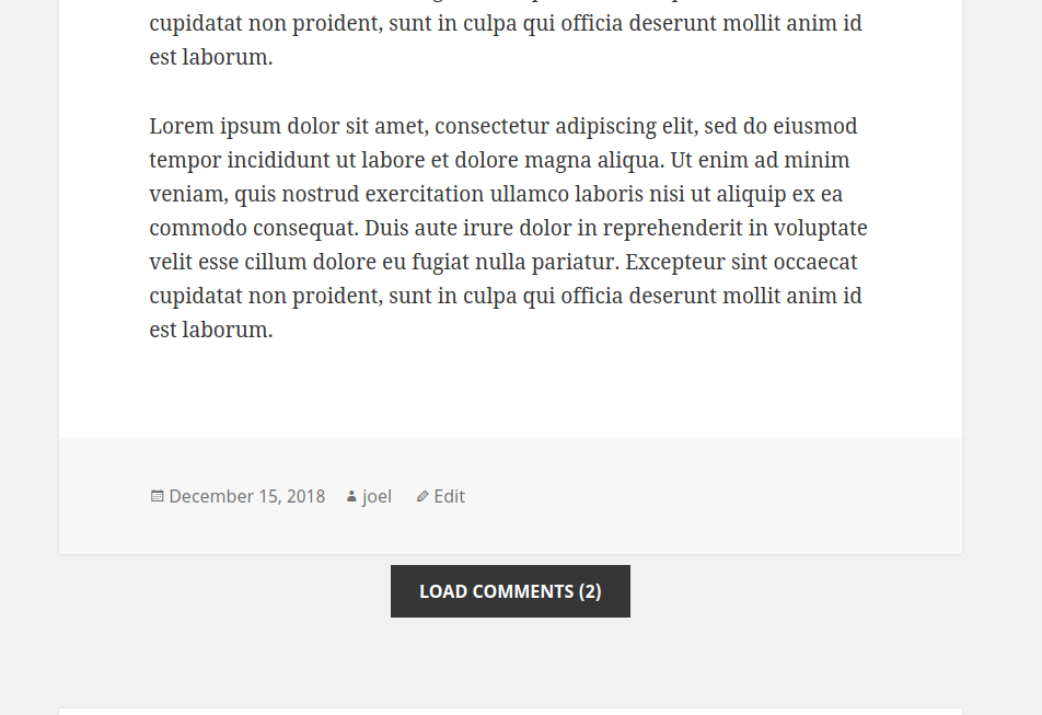 Disqus Conditional Load – WordPress plugin | WordPress org