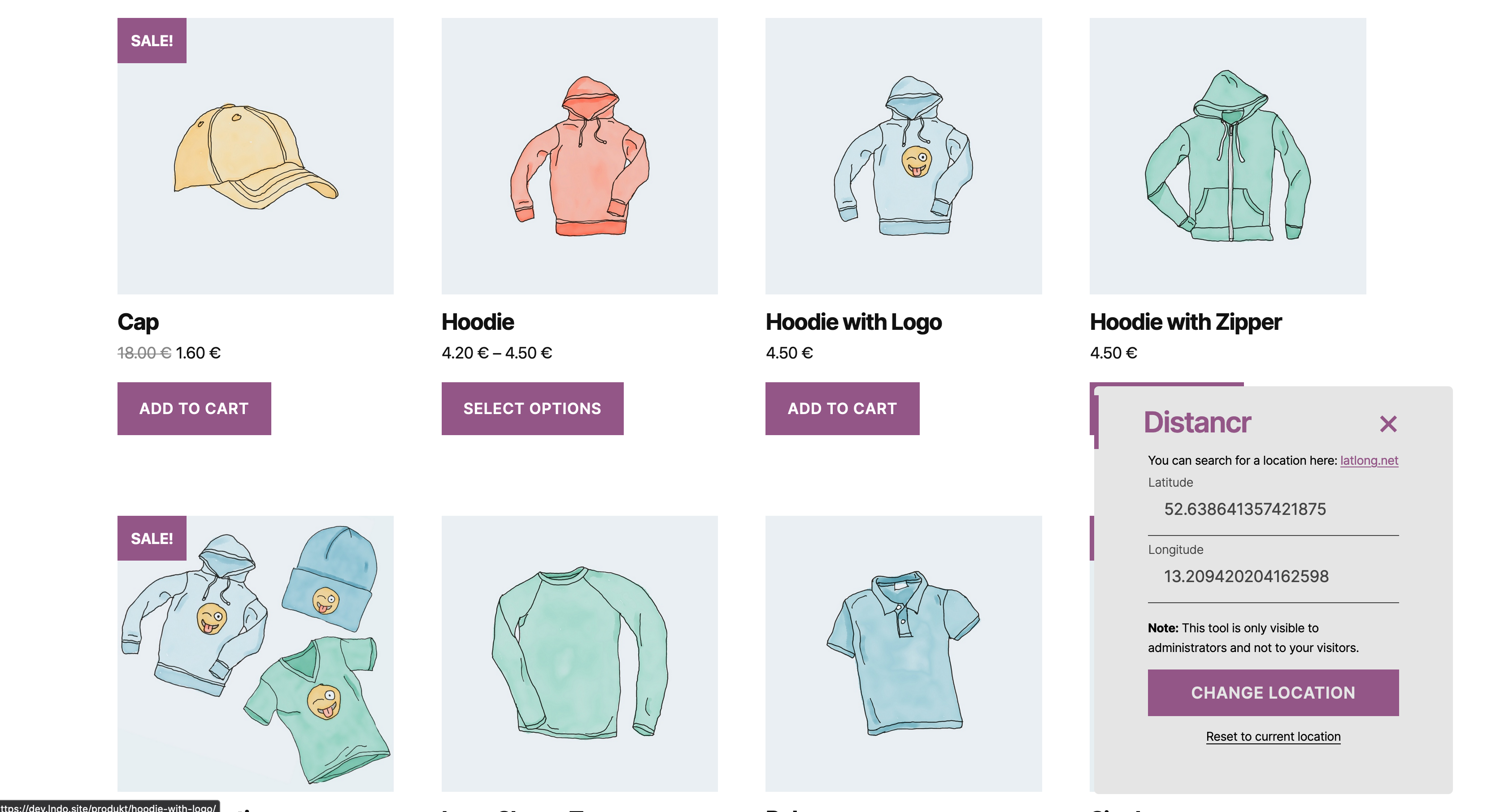 Distancr – Geolocation for WooCommerce