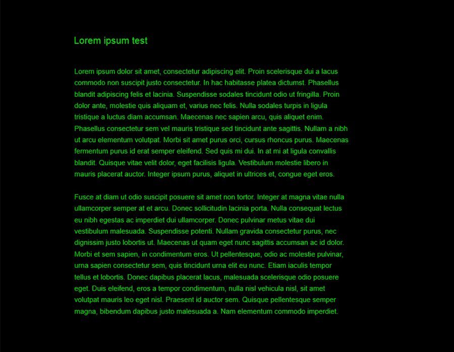 distraction-free-writing-mode-themes screenshot 4