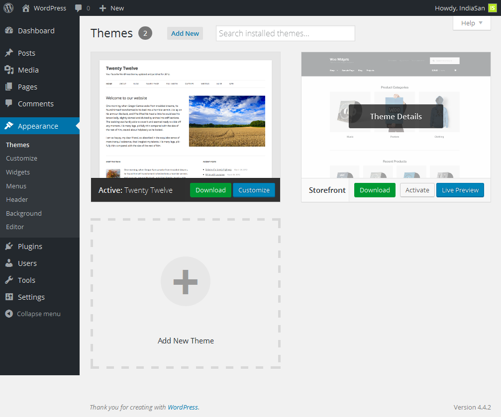 download theme wordpress org