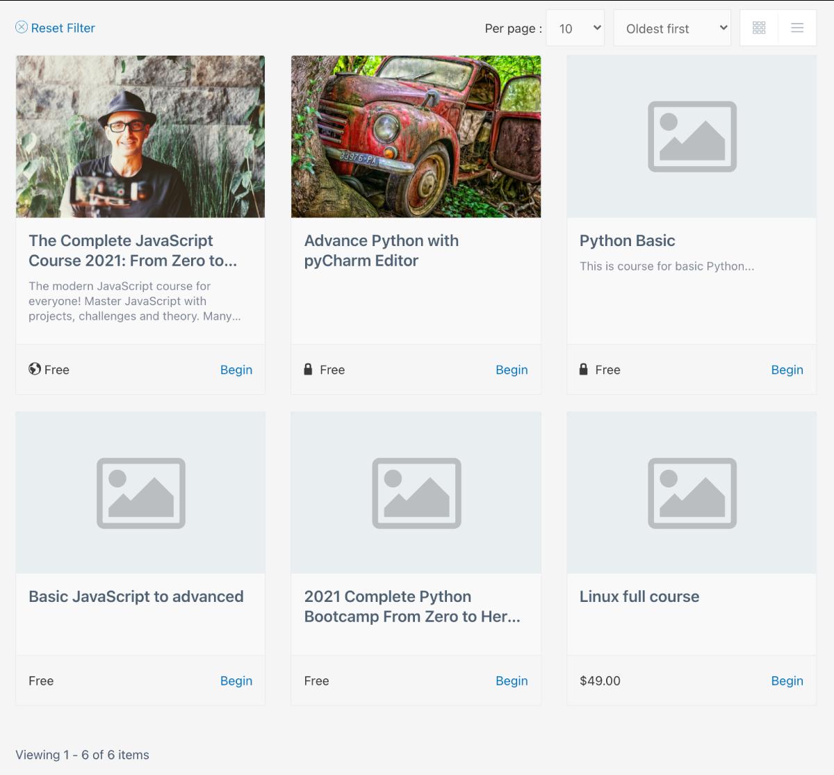 Dozent LMS – Powerful WordPress LMS plugin