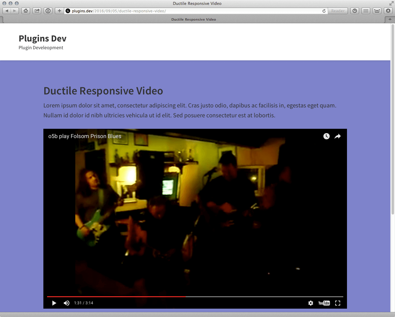 ductile-responsive-video screenshot 1