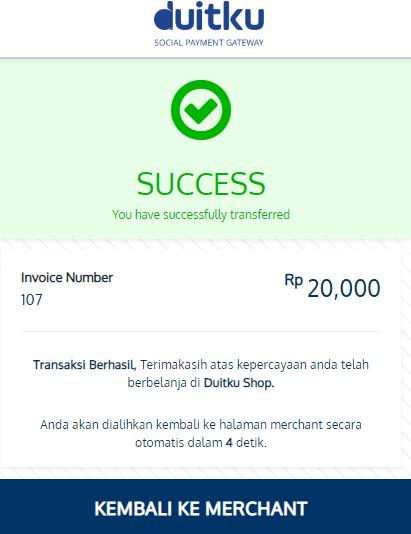 <p>Success Payment Page</p>
