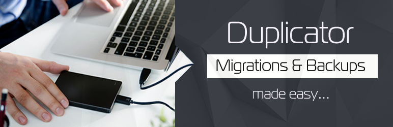 duplicator backup plugin for wordpress