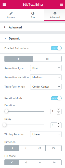Dynamic Animations for Elementor in simple to use. Get best results with Dynamic Content for Elementor.