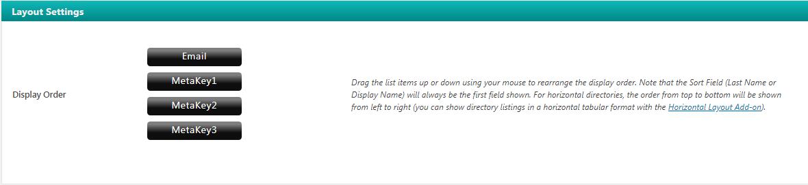 Dynamic User Directory – WordPress plugin   WordPress org