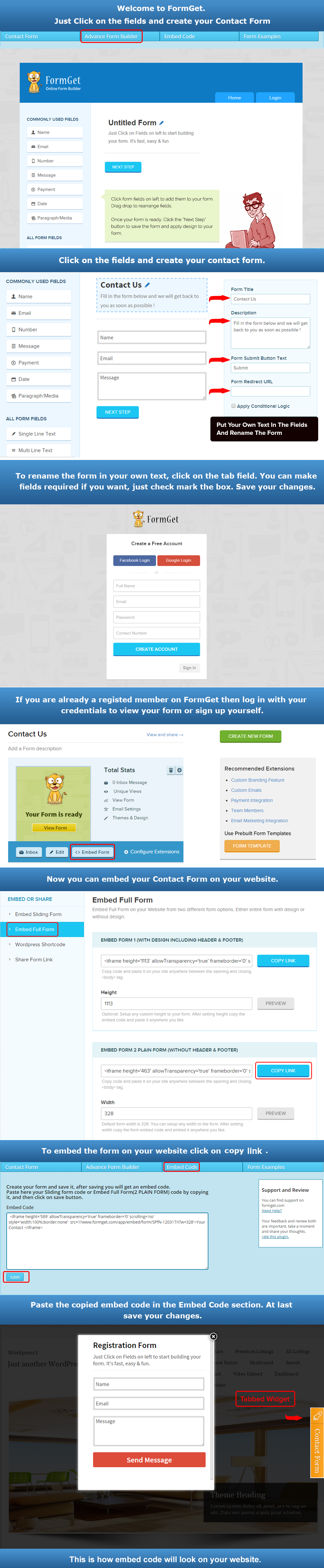 Easy Contact Form Solution — WordPress Plugins
