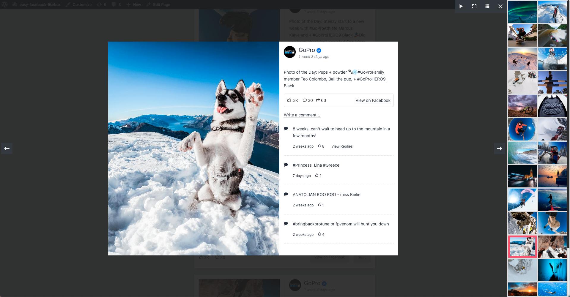 Easy Facebook Like Box (Facebook Page Plugin) – Custom