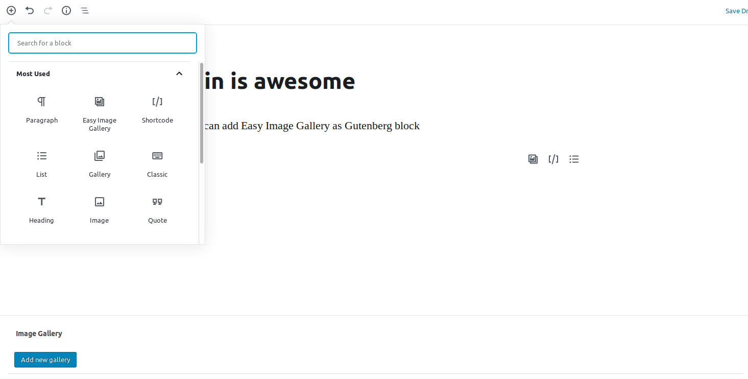 easy-image-gallery screenshot 3
