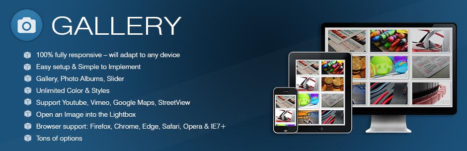Gallery – Responsive Image Gallery Plugin