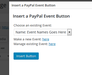 paypal events wordpress org