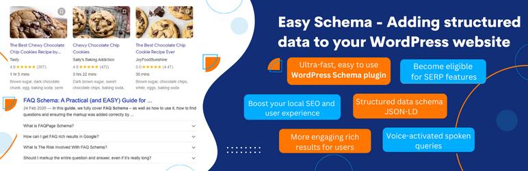 Easy Schema –  Structured Data & Rich Snippets