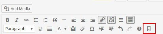 TinyMCE Editor Anchor Button