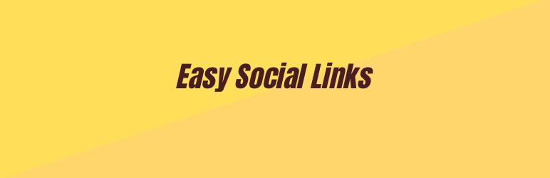 Easy Social Links