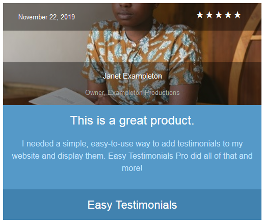 easy-testimonials screenshot 11