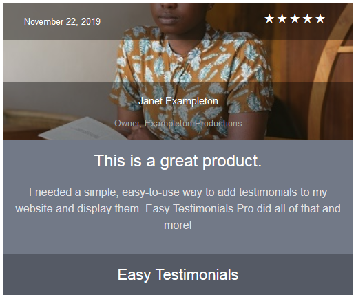 easy-testimonials screenshot 12