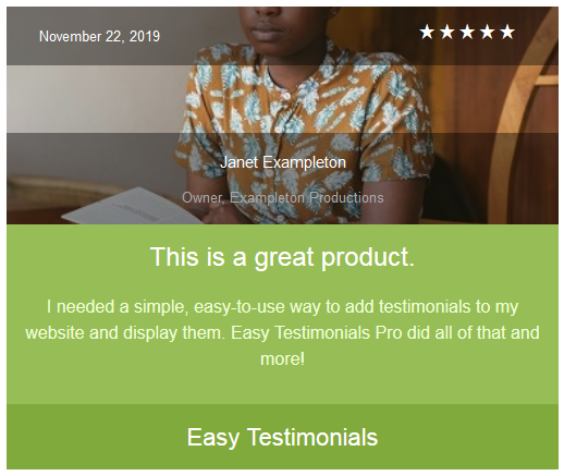 easy-testimonials screenshot 13