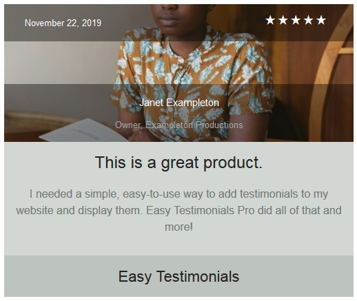 easy-testimonials screenshot 14