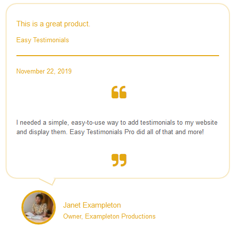 easy-testimonials screenshot 5