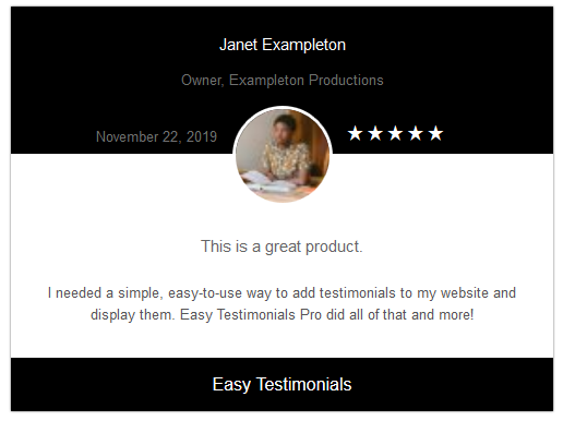 easy-testimonials screenshot 6
