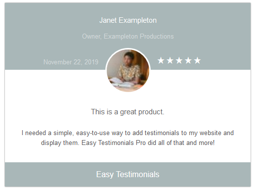 easy-testimonials screenshot 9