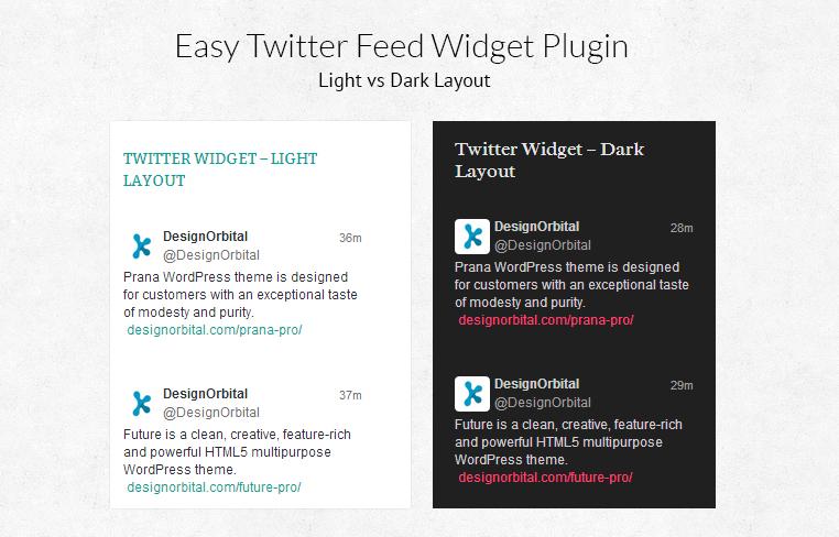 Easy Twitter Feed Widget Plugin | WordPress.org