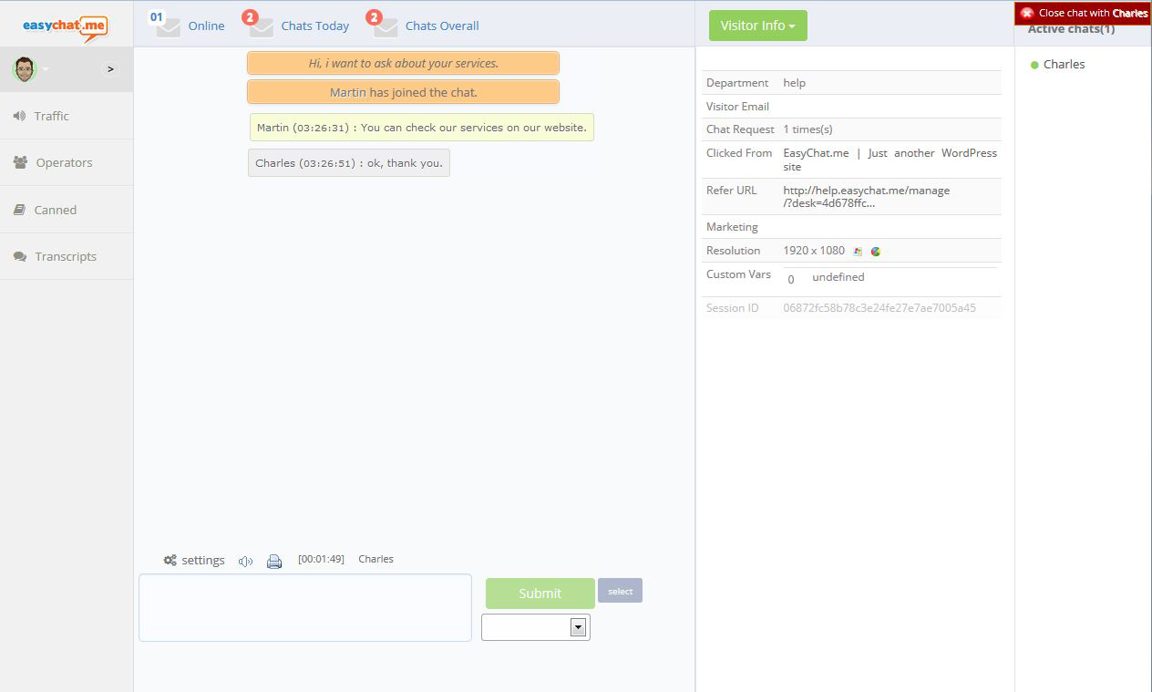 easychatme-live-chat screenshot 5
