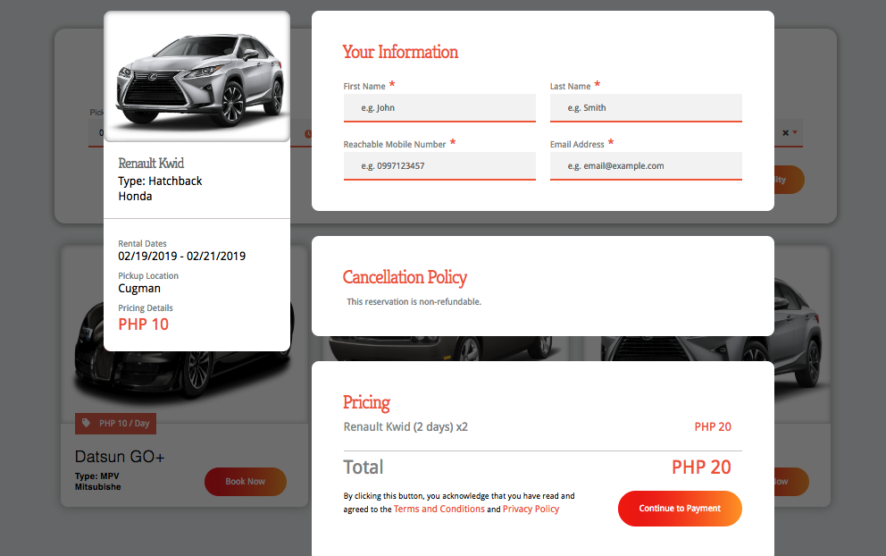 Easync Booking For Hotels, Restaurant and Car Rental