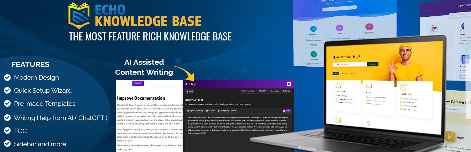 Knowledge Base for Documents and FAQs – WordPress plugin | WordPress org