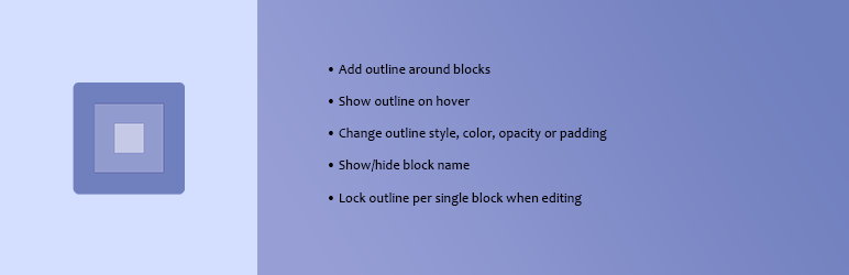Editor Block Outline