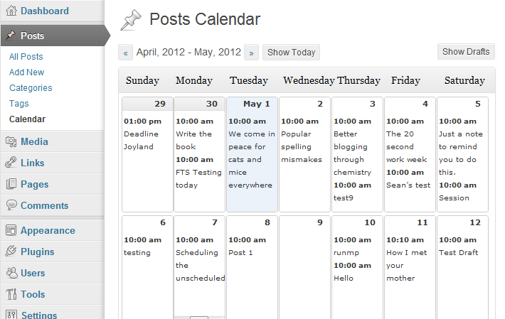 Image result for editorial calendar