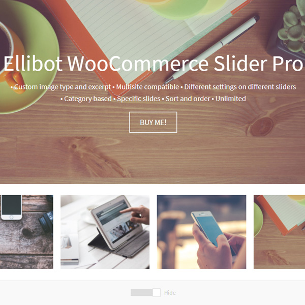Ellibot WooCommerce Slider