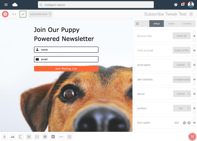 Email Blaster Newsletter Signup Form — WordPress Plugins