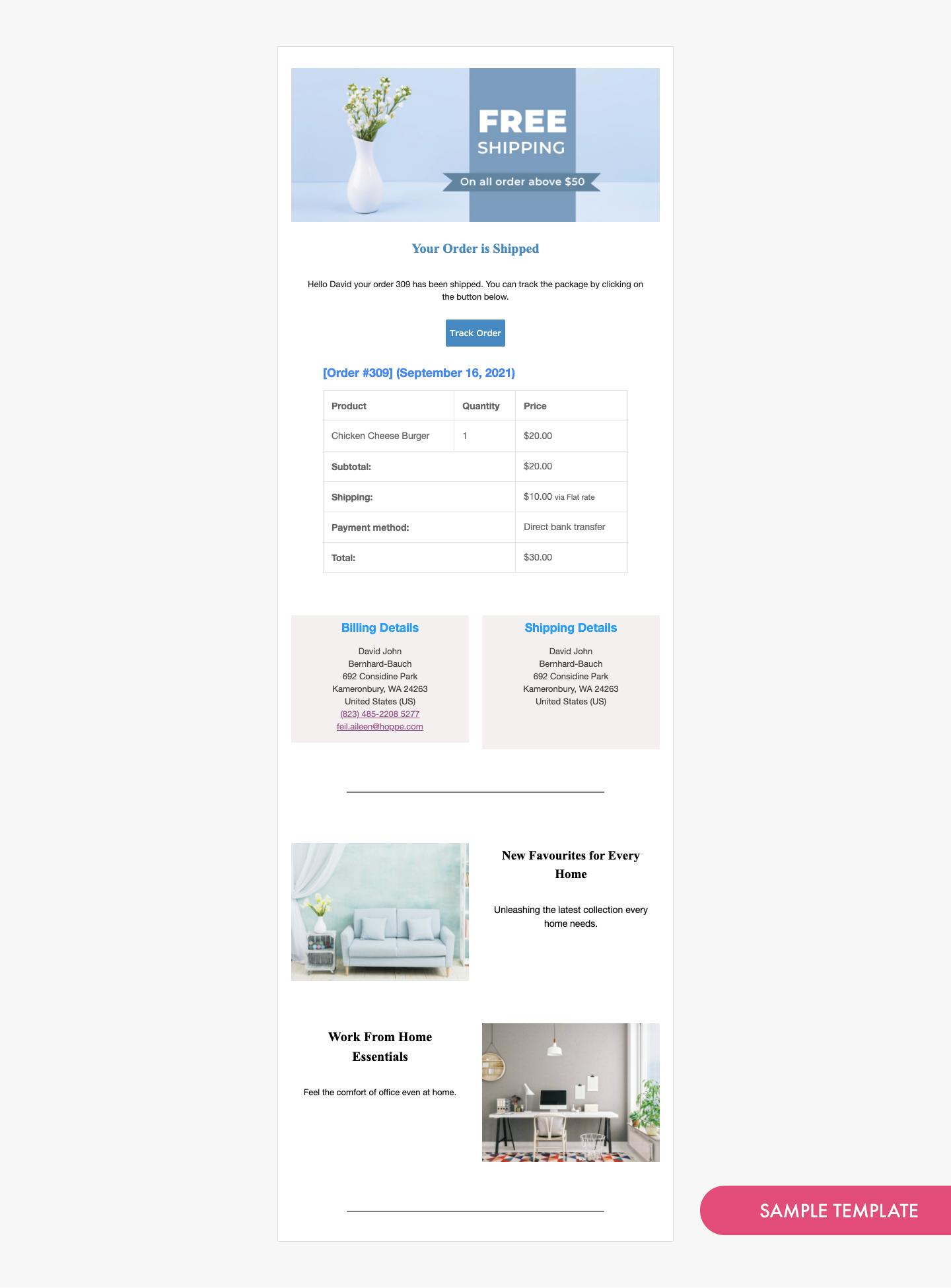 Email Customizer for WooCommerce – WordPress plugin