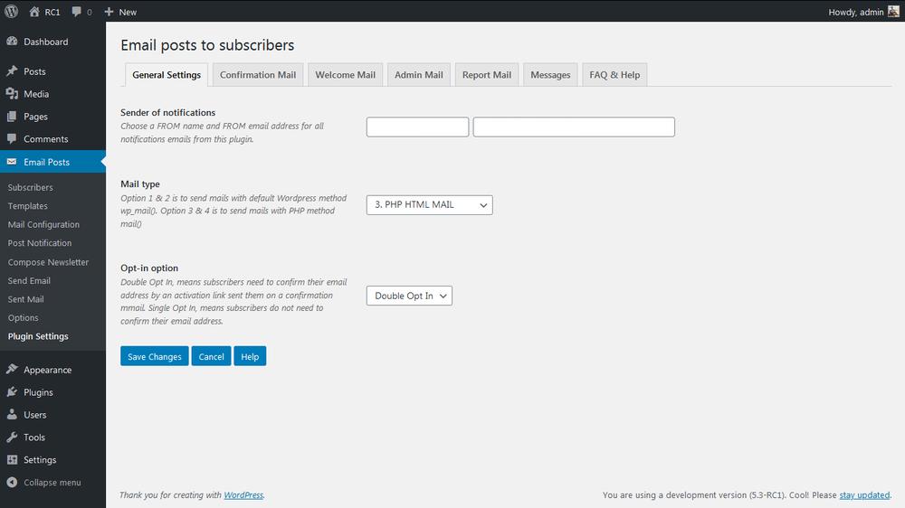 Email posts to subscribers – WordPress plugin | WordPress.org