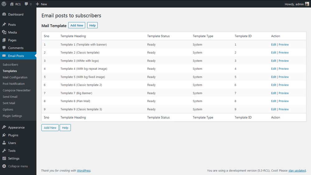 email-posts-to-subscribers screenshot 3