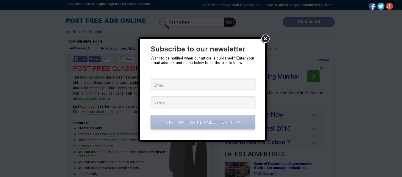 Email subscription popup wordpress plugins preview of modal popup falaconquin