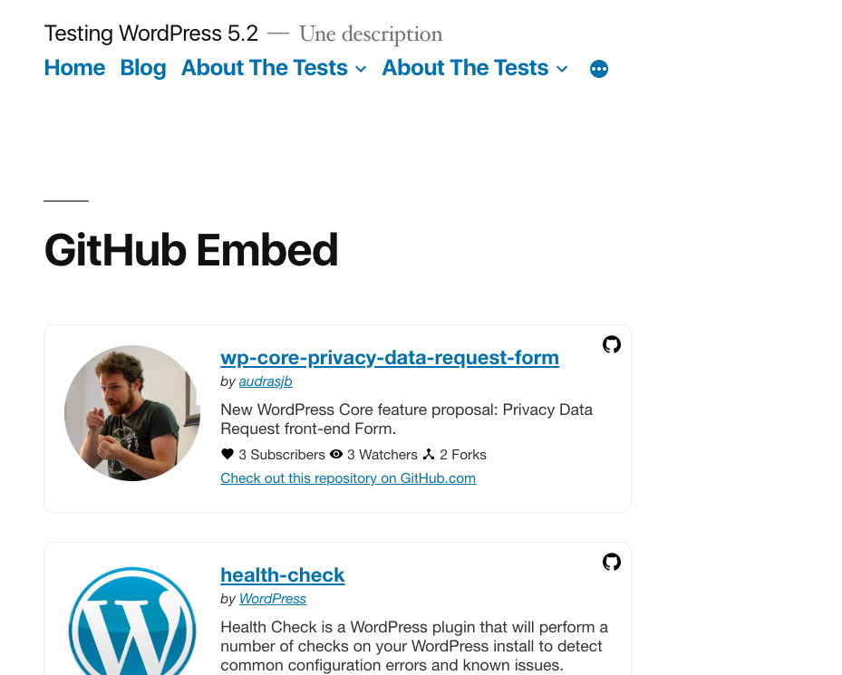 Integrates well with your theme stylesheet.