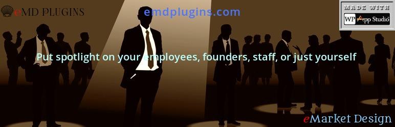 Team Members Staff Showcase Plugin – Employee Spotlight