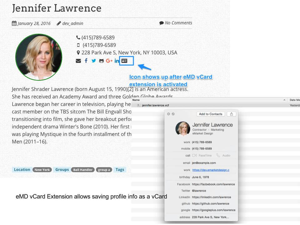 Team Members Staff Showcase Plugin  Employee Spotlight  Wordpress