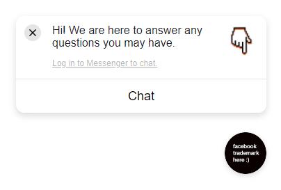 Chat on public site