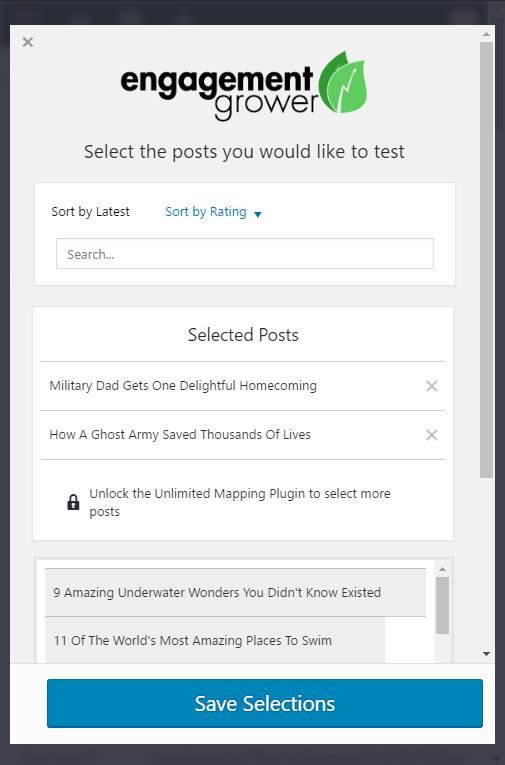 A mobile friendly design that works on every device.