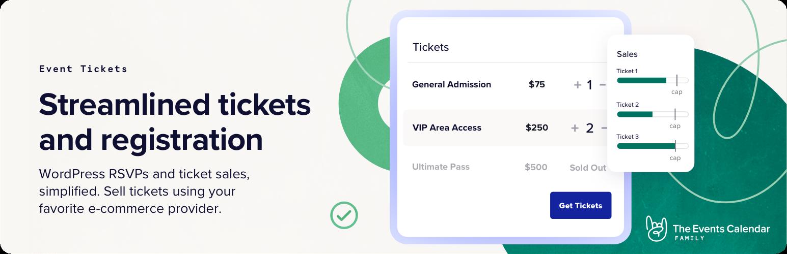 Event Tickets – WordPress plugin | WordPress org