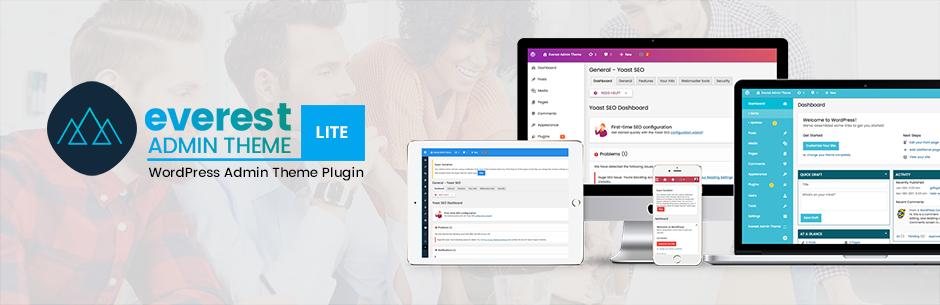 WordPress Backend Customizer - Everest Admin Theme Lite - Wo