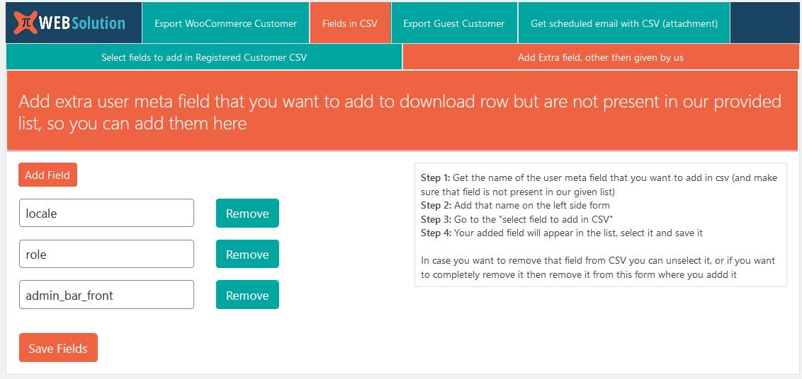 Export WooCommerce customers list csv, WordPress users csv, Email customer list daily